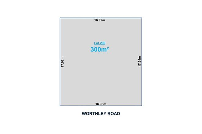 Picture of Lot 200 Worthley Road, FINDON SA 5023