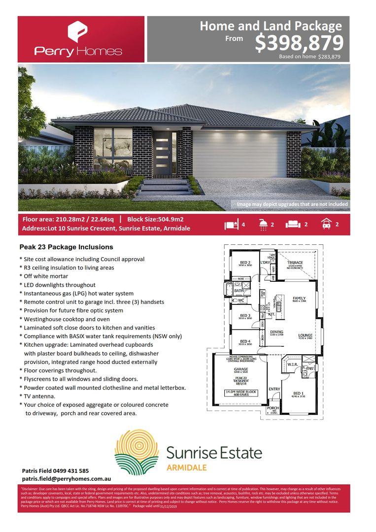 Lot 10 Sunrise Crescent, Armidale NSW 2350, Image 2