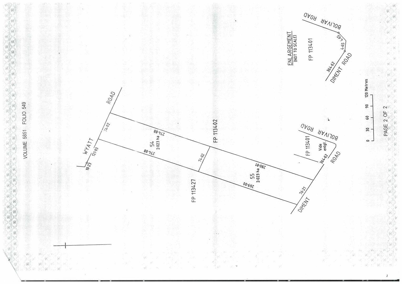LOT 54 WYATT ROAD, Direk SA 5110, Image 0