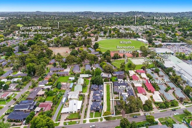 Picture of 1&2/22 Mountain View Road, KILSYTH VIC 3137