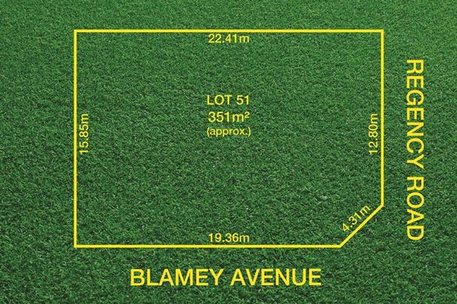 Picture of Lot 51 Blamey Avenue, BROADVIEW SA 5083