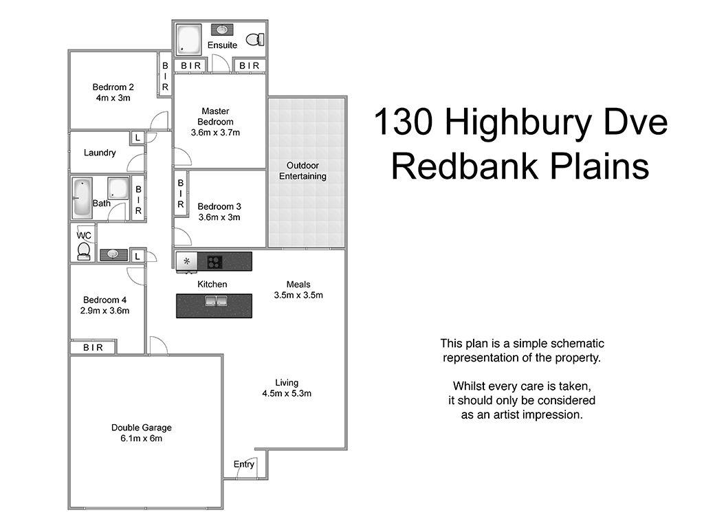 130 Highbury Drive, Redbank Plains QLD 4301, Image 2