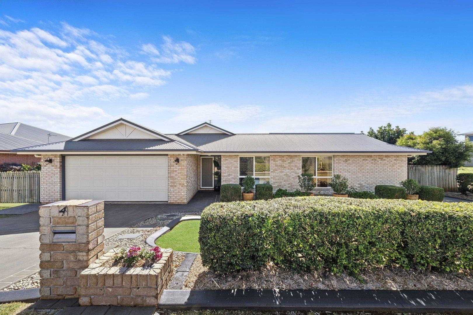 4 Fadden Crescent, Middle Ridge QLD 4350, Image 0