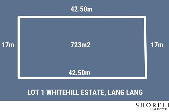Picture of Lot 1 Whitehill Estate, LANG LANG VIC 3984