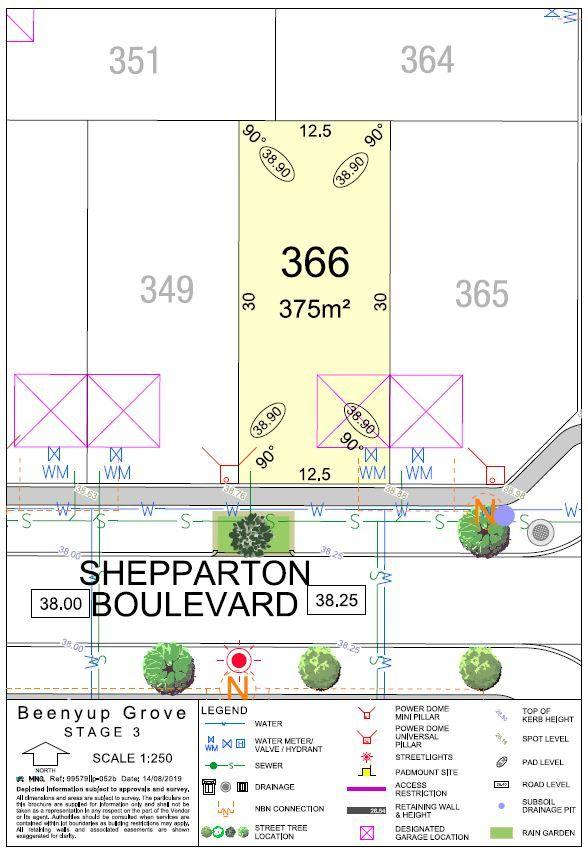 Lot 366 Shepparton Boulevard, Byford WA 6122, Image 0