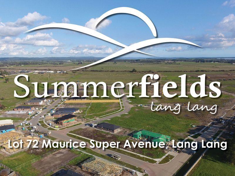 Lot 72 Maurice Super Avenue, Lang Lang VIC 3984, Image 0