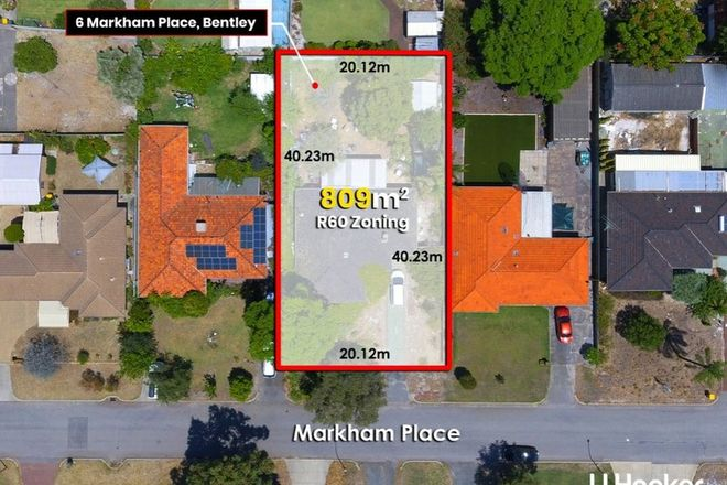 Picture of 6 Markham Place, BENTLEY WA 6102