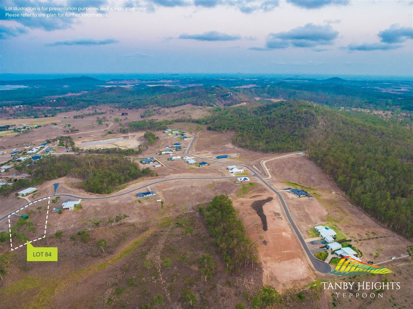 Lot 84 Ridgeline Drive - Tanby Heights Estate, Tanby QLD 4703, Image 2