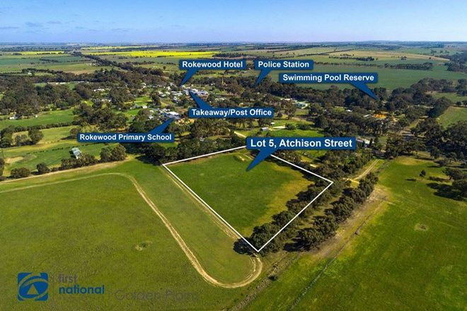 Picture of Lot 5 Aitchison Street, ROKEWOOD VIC 3330