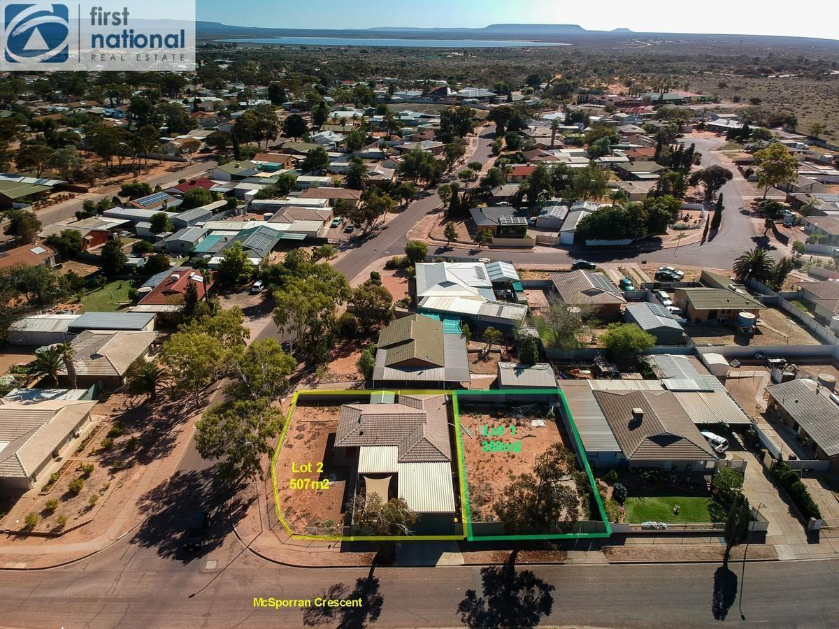54 (Lots 1 & 2) McSporran Crescent, Port Augusta West SA 5700, Image 1