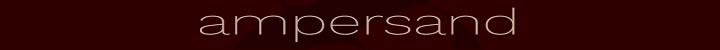 Branding for Ampersand