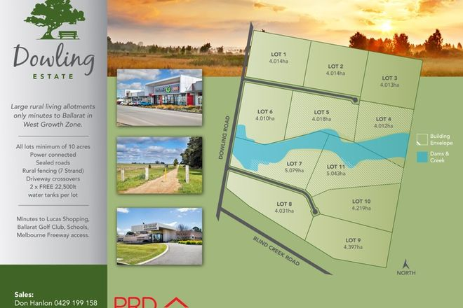 Picture of Lot 1/CA 10 Dowling Road, MITCHELL PARK VIC 3355