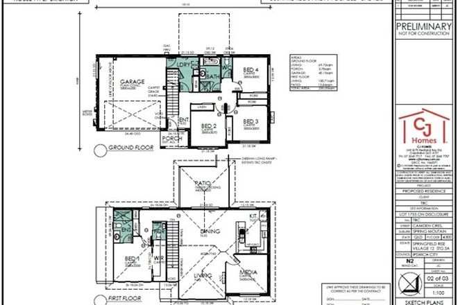 Picture of Lot 1755 Camden Crescent, SPRINGFIELD LAKES QLD 4300