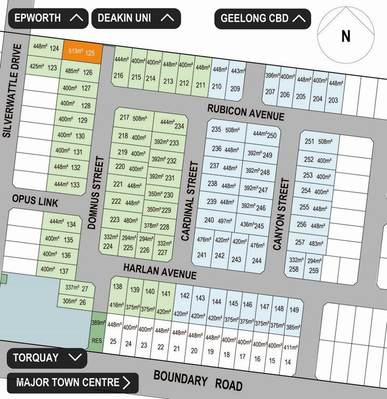 Lot 125 Paso Place, Mount Duneed VIC 3217, Image 0