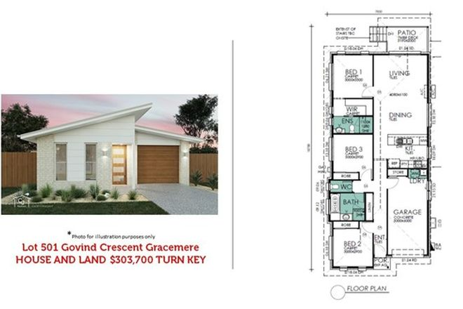 Picture of Lot 501 Govind Ct, GRACEMERE QLD 4702