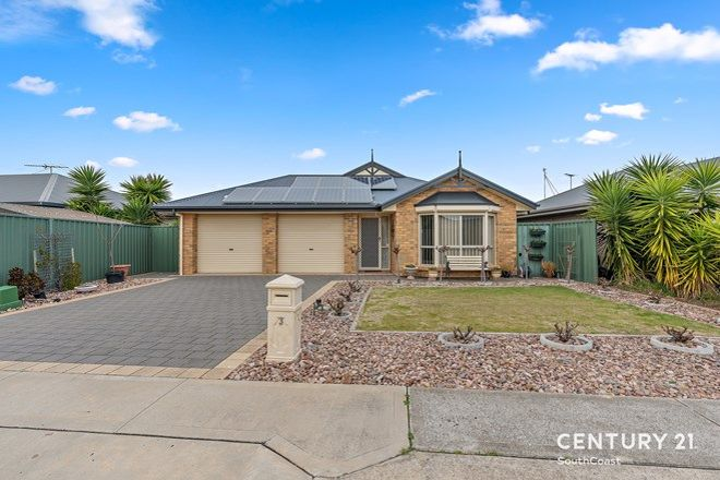 Picture of 3 Chartreuse Court, ALDINGA BEACH SA 5173