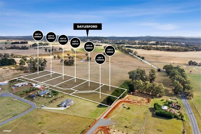 Picture of Lot 8-14/150 Daylesford Malmsbury Road, COOMOORA VIC 3461