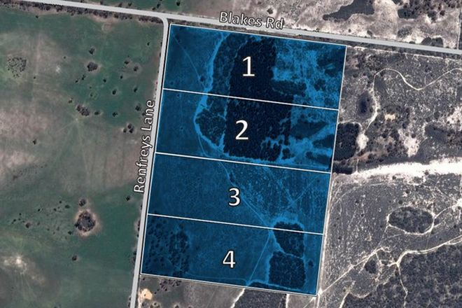 Picture of Lot 1 - 4 Blakes Road, Tooan, NATIMUK VIC 3409