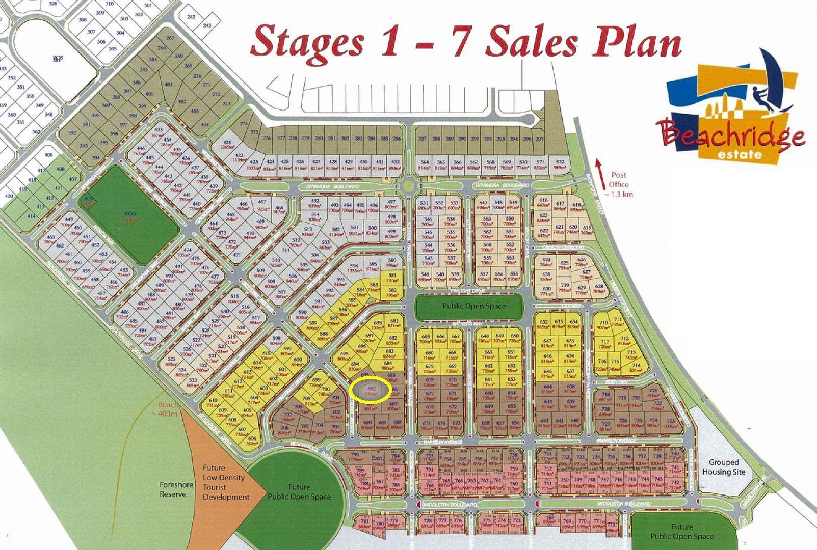 Lot 692, 41 Bettong Avenue, Jurien Bay WA 6516, Image 2