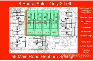 Picture of 59 Main Road, Hepburn Springs VIC 3461