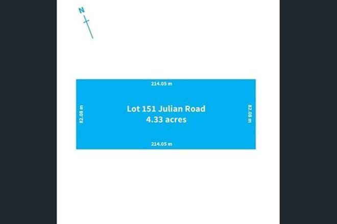 Picture of Lot 151 Julian Road, MACDONALD PARK SA 5121