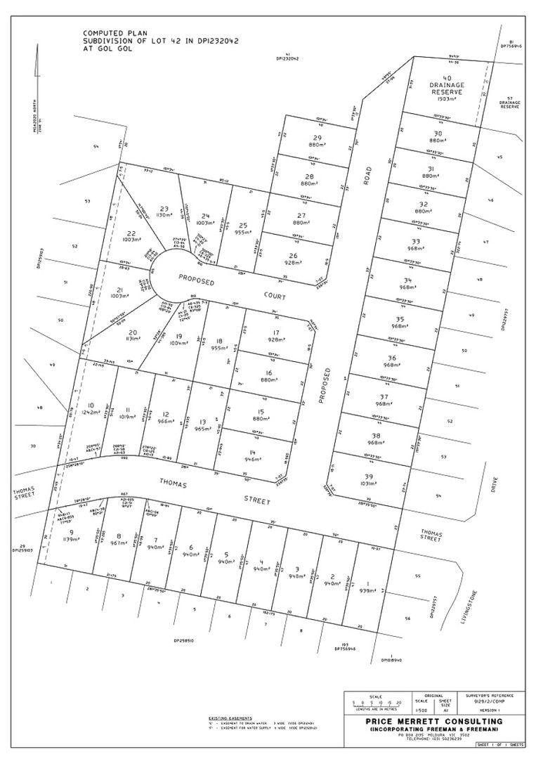 Lot 37 Thomas Street, Gol Gol NSW 2738, Image 1