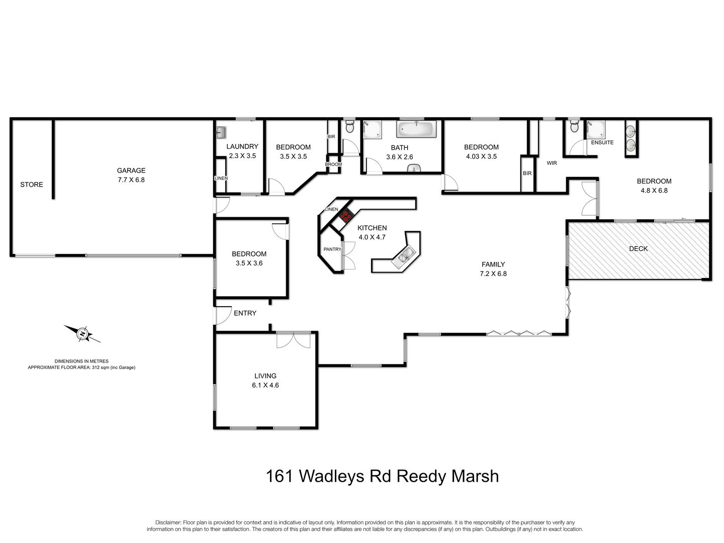 161 Wadleys Road, Reedy Marsh TAS 7304 - House for Sale ...