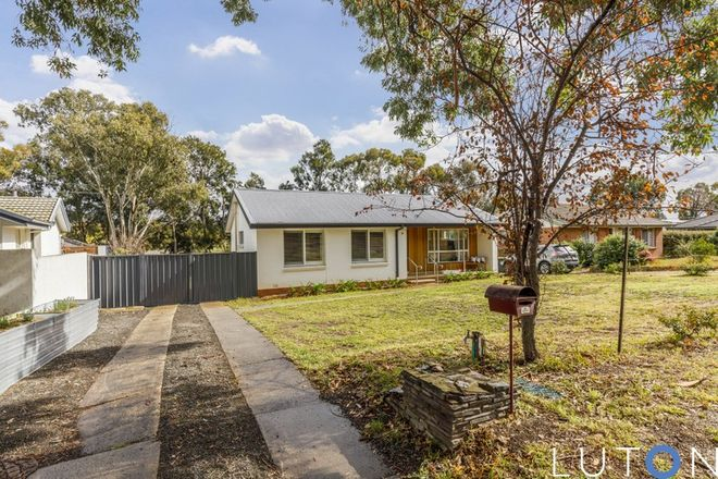 Picture of 72 Hurley Street, MAWSON ACT 2607