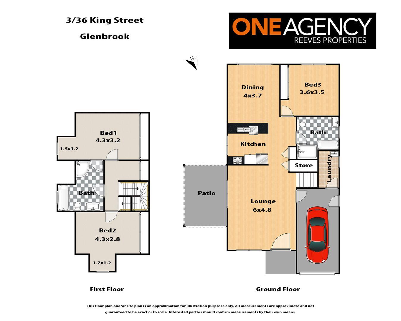 3/36 King Street, Glenbrook NSW 2773, Image 1