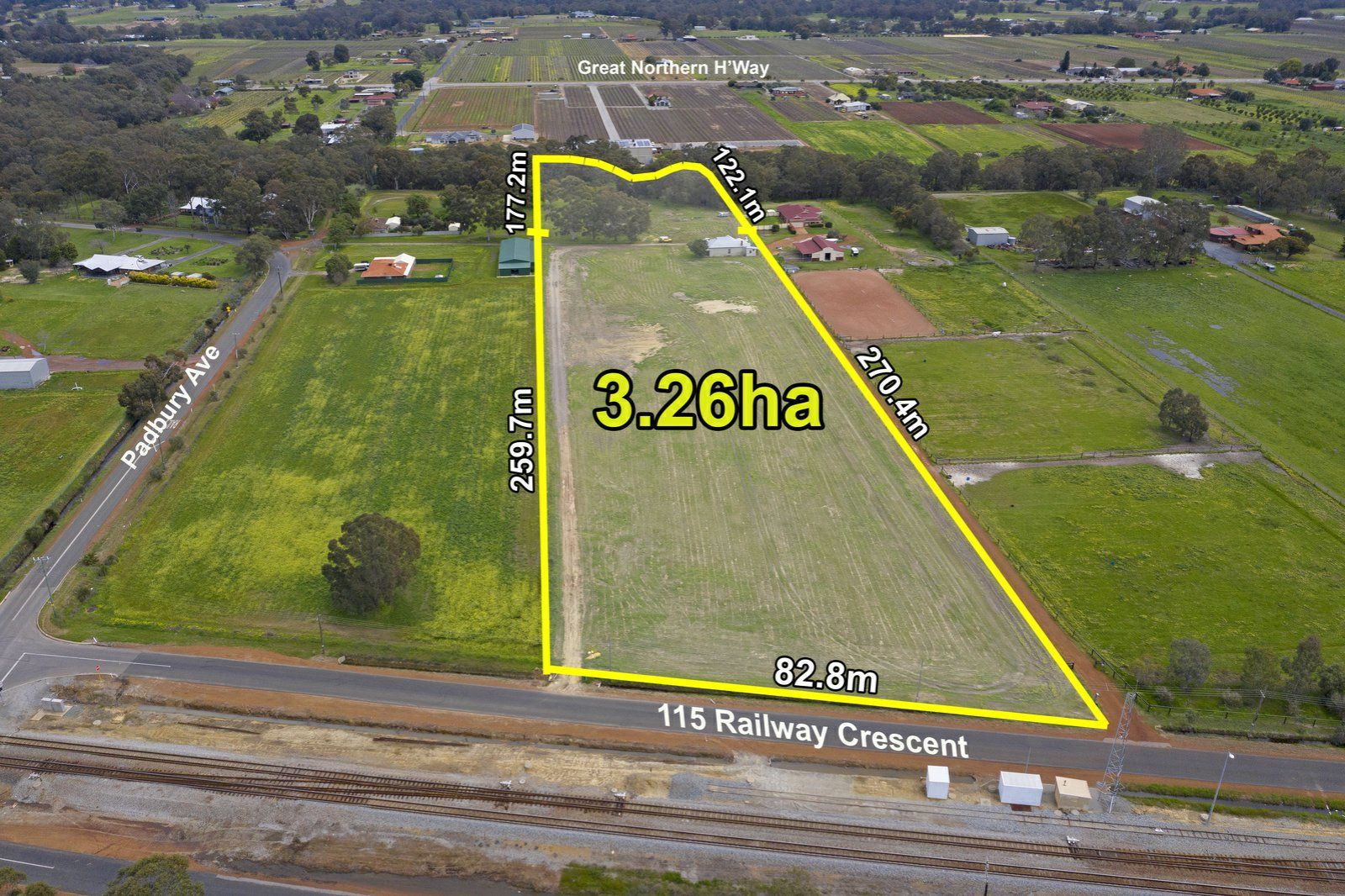 Lot 115 Railway Crescent, Millendon WA 6056, Image 0