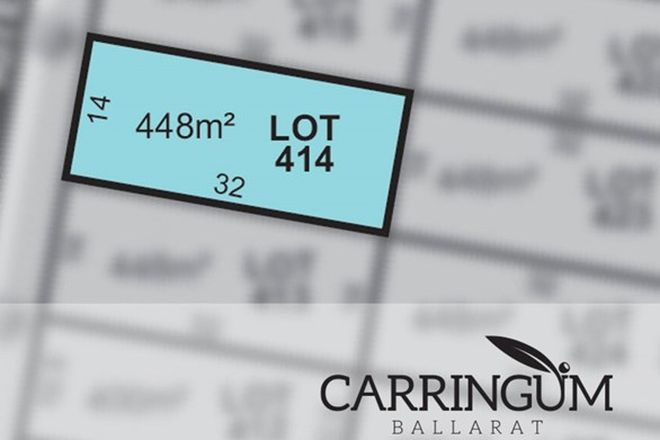 Picture of Carringum/Lot 414 Kite Street, WINTER VALLEY VIC 3358