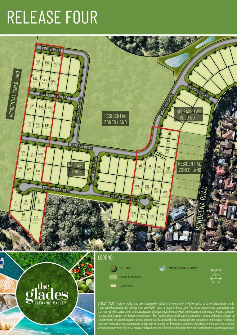 Lot 513 Corkwood Street, Glenning Valley NSW 2261, Image 1