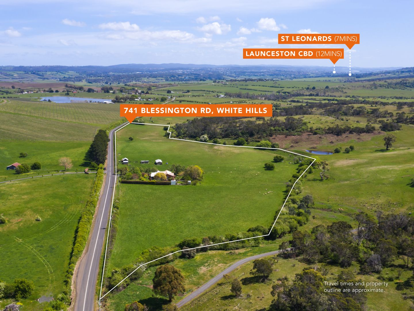 741 Blessington Road, White Hills TAS 7258, Image 0