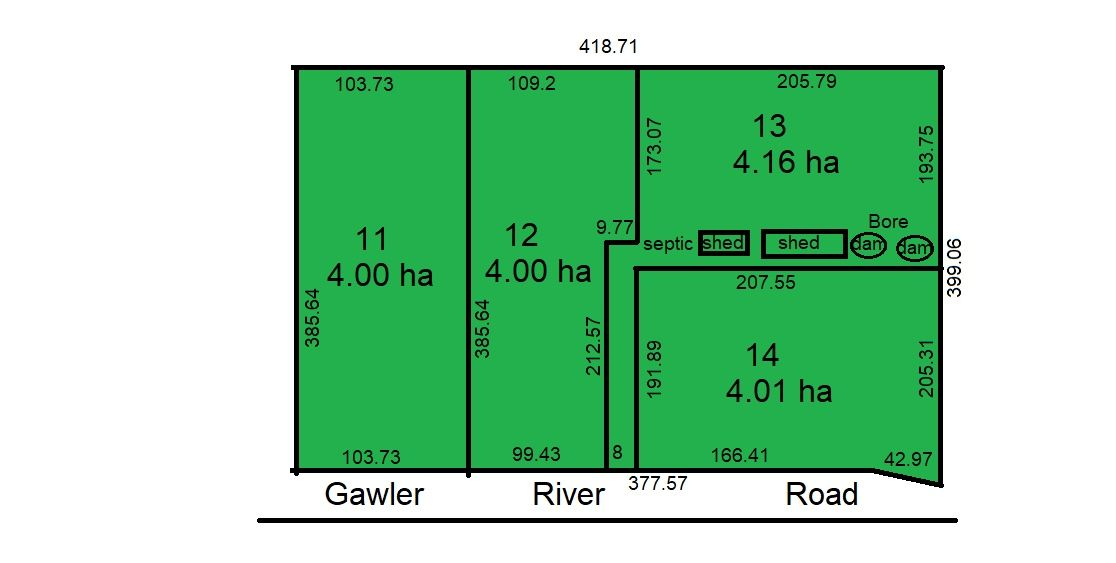 Lots 12 &14 Gawler River Road, Lewiston SA 5501, Image 2