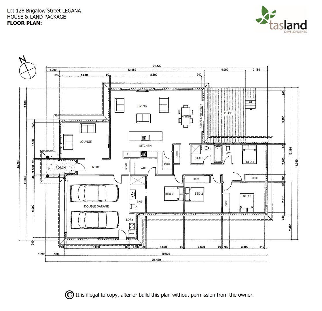 Lot 128 Brigalow Street, Legana TAS 7277, Image 2