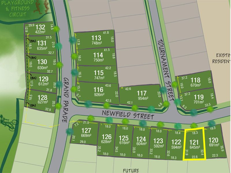 Lot 121 Newfield Street, Rutherford NSW 2320, Image 1