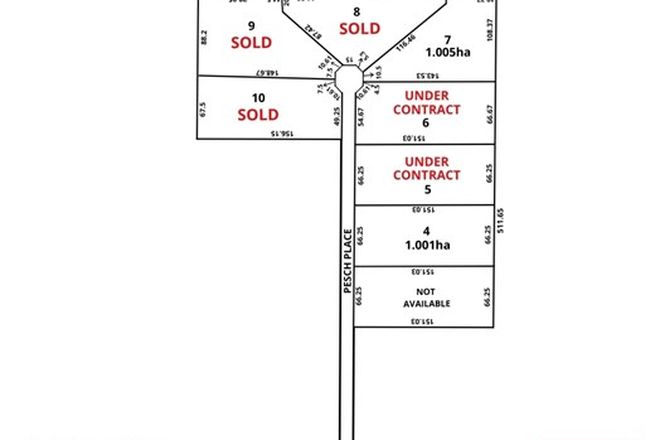 Picture of Lot 8 Pesch Place, GAWLER BELT SA 5118