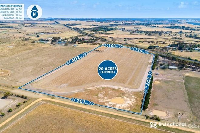 Picture of 140 Noyes Road, LETHBRIDGE VIC 3332