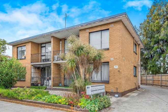 Picture of 5/81 Bellairs Avenue, YARRAVILLE VIC 3013