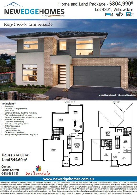 Lot 4301 Proposed Road (Willowdale), Leppington NSW 2179, Image 1