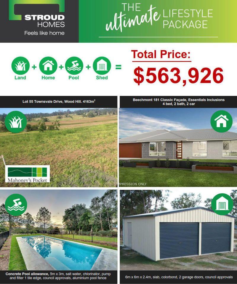 "Lot 87 Munroe Drive ""MAHONEYS POCKET"", Woodhill QLD 4285, Image 1"