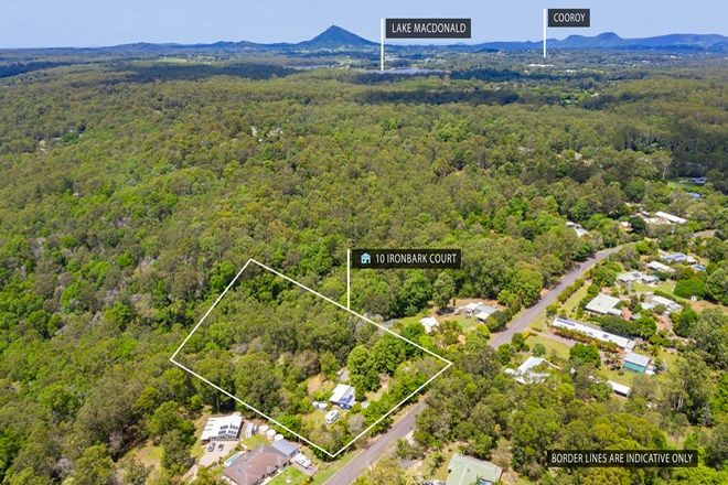 Picture of 10 Ironbark Court, LAKE MACDONALD QLD 4563