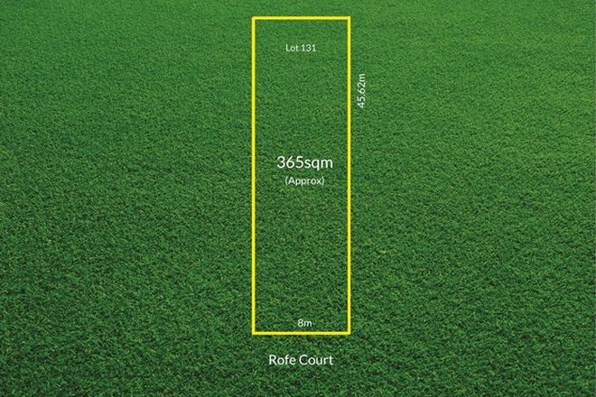 Picture of Lot 131, 7 Rofe Court, WOODVILLE PARK SA 5011