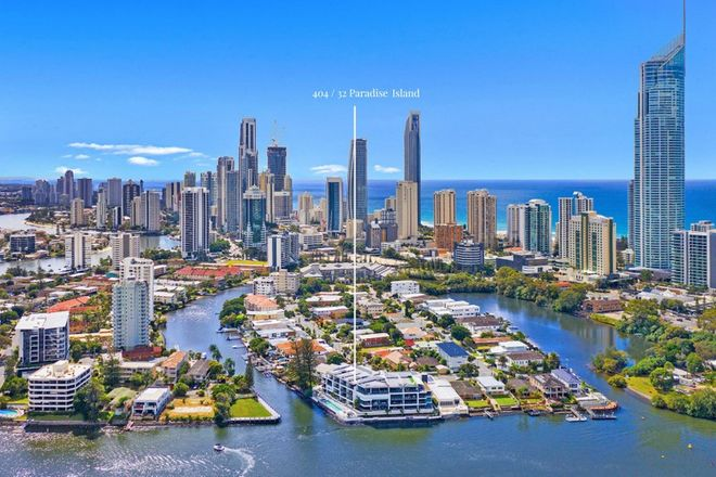 Picture of 404/30 Paradise Island, SURFERS PARADISE QLD 4217
