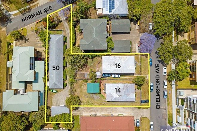 Picture of 14 & 16 Chelmsford Ave & 50 Norman Ave, LUTWYCHE QLD 4030