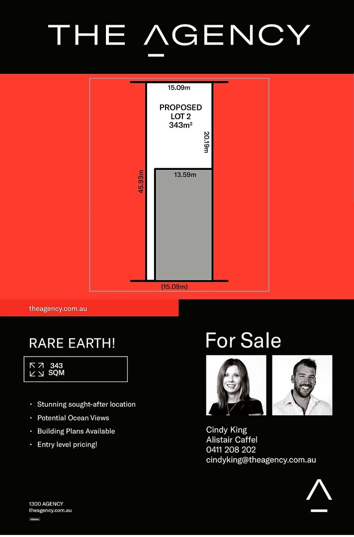 Proposed Lot 2 149 Duke Street, Scarborough WA 6019, Image 1