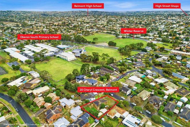 Picture of 20 Cheryl Crescent, BELMONT VIC 3216