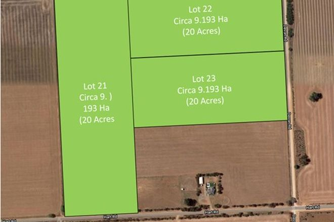 Picture of Lot 21, 22, 23 Hart Road, LOWER LIGHT SA 5501