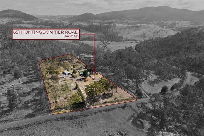 Picture of 651 Huntingdon Tier Road, BAGDAD TAS 7030
