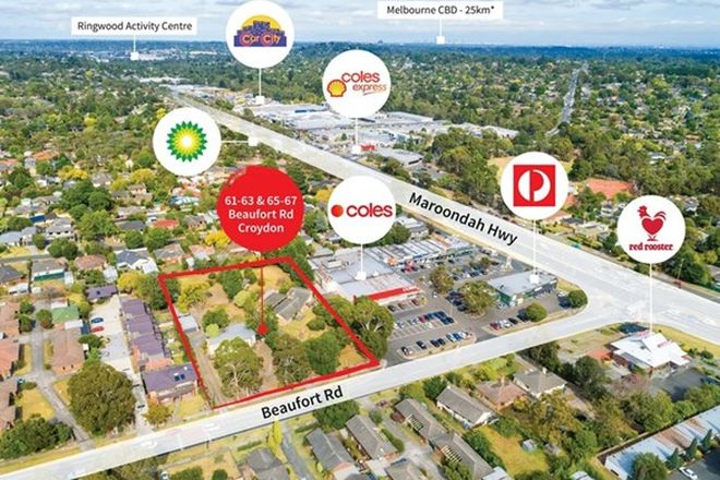 Picture of 61-63 & 65-67 Beaufort Road, CROYDON VIC 3136